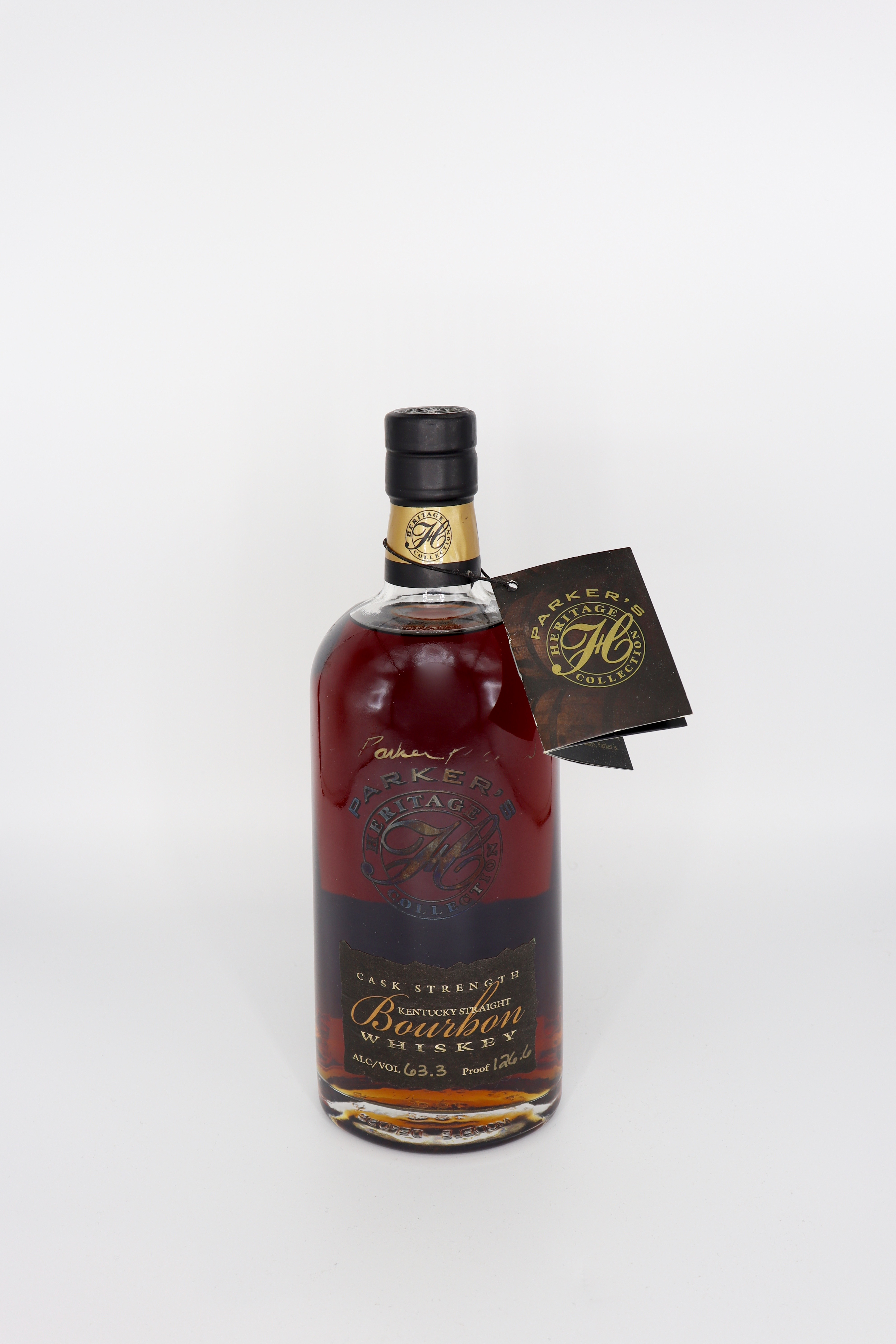 Parker's Heritage Collection Kentucky Straight Bourbon 1st Edition Cask Strength 126.6 Signed proof