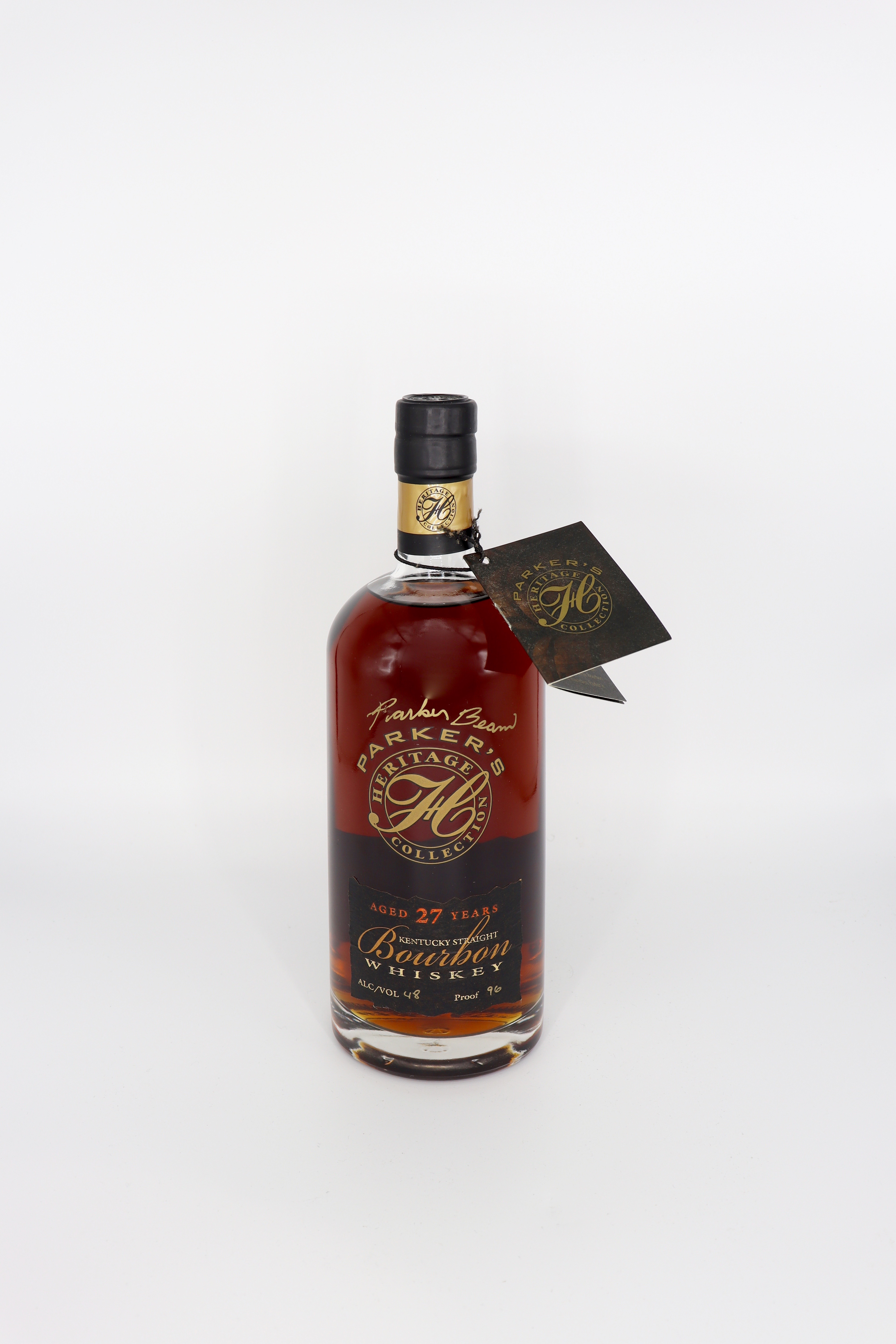 Parker's Heritage Collection Kentucky Straight Bourbon 2nd Edition 27 year old 96 proof Signed