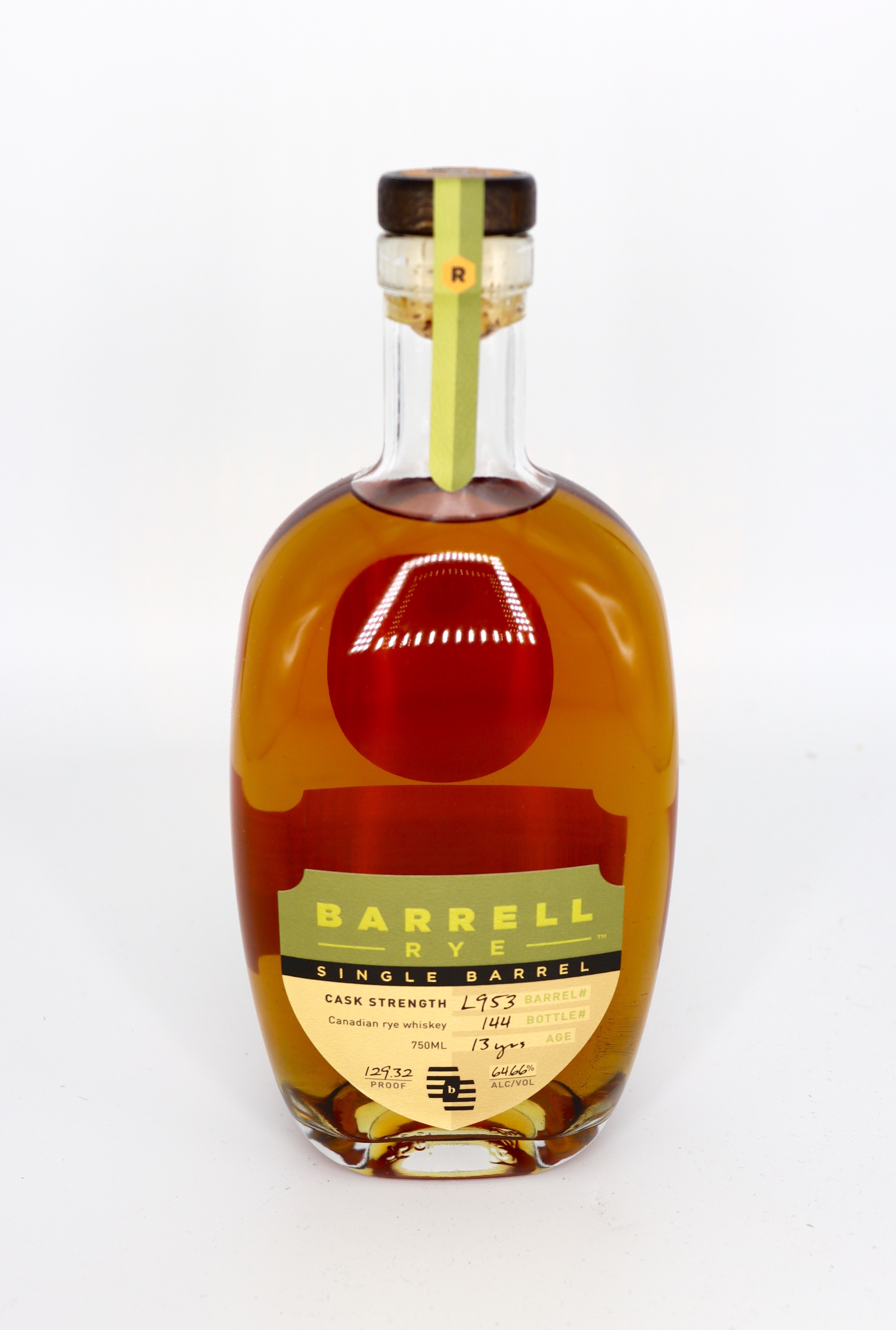 Barrell 13 year old RYE King of Picks Single Barrel Straight Cask Strength only 126btls 129.32 proof