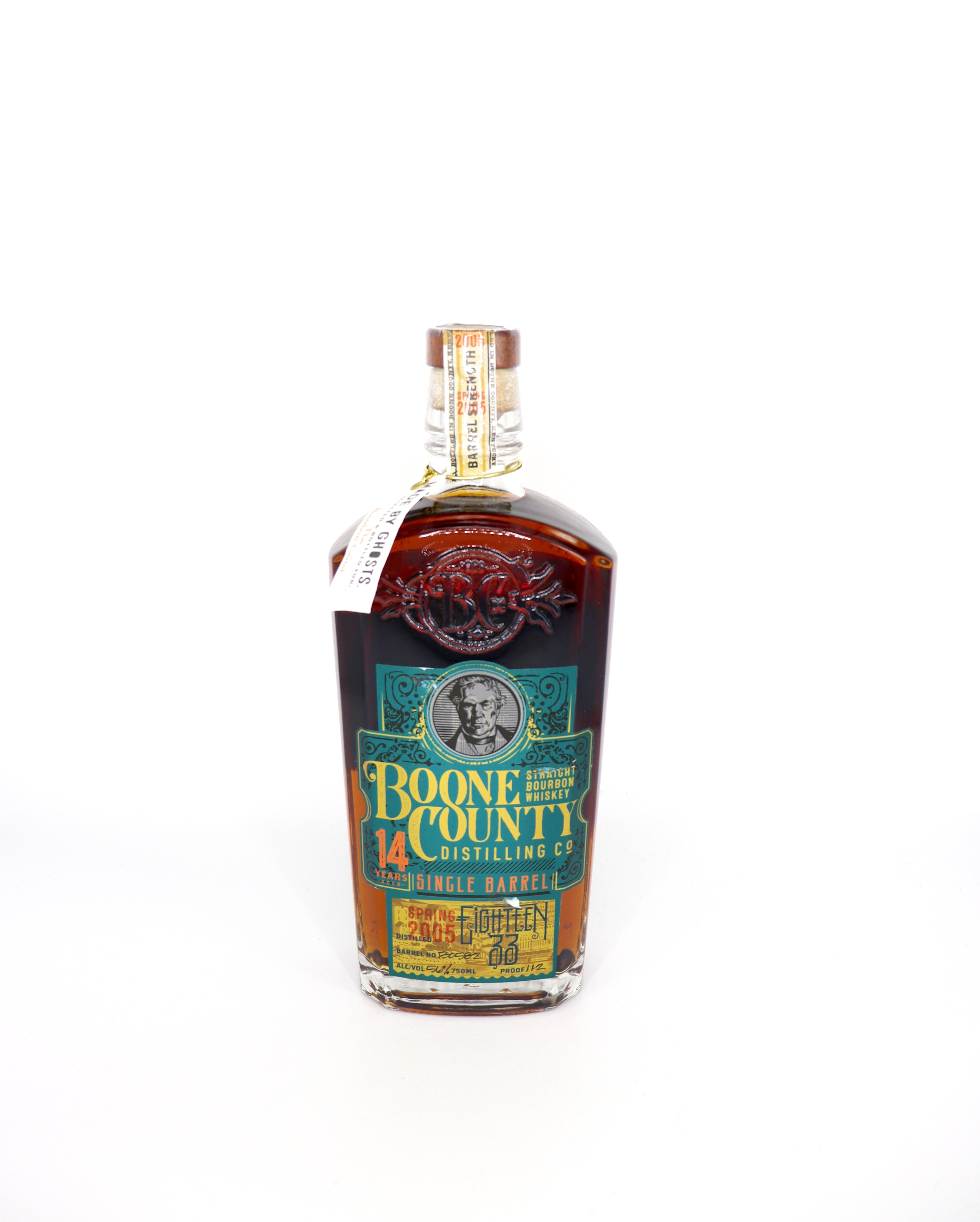 Boone County 14 Year old Single Barrel Barrel strenght Bourbon The Bourbon Central Bottling