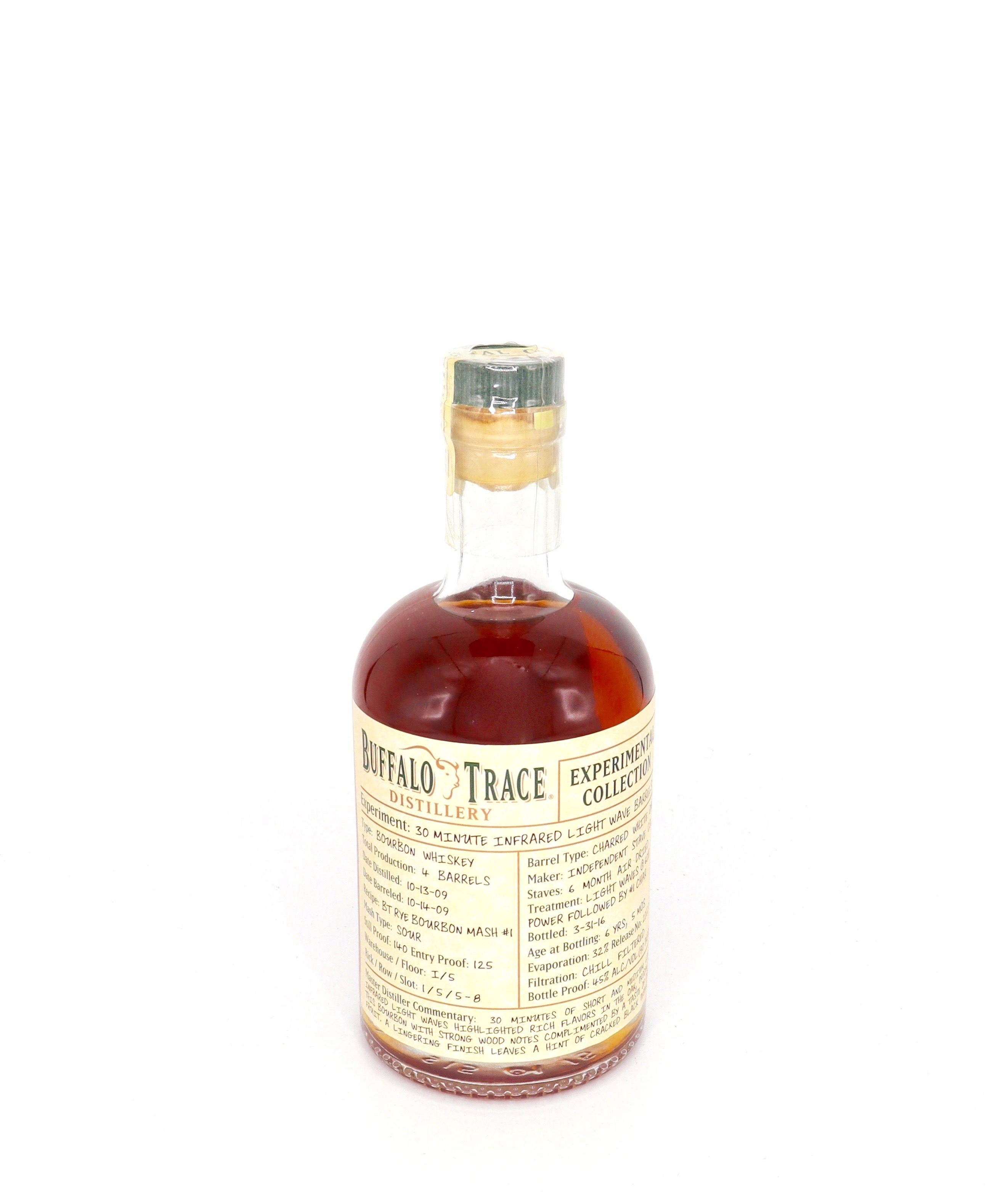 Buffalo Trace Experimental Collection 30 Minute Infrared light Wave Barrels 90 proof
