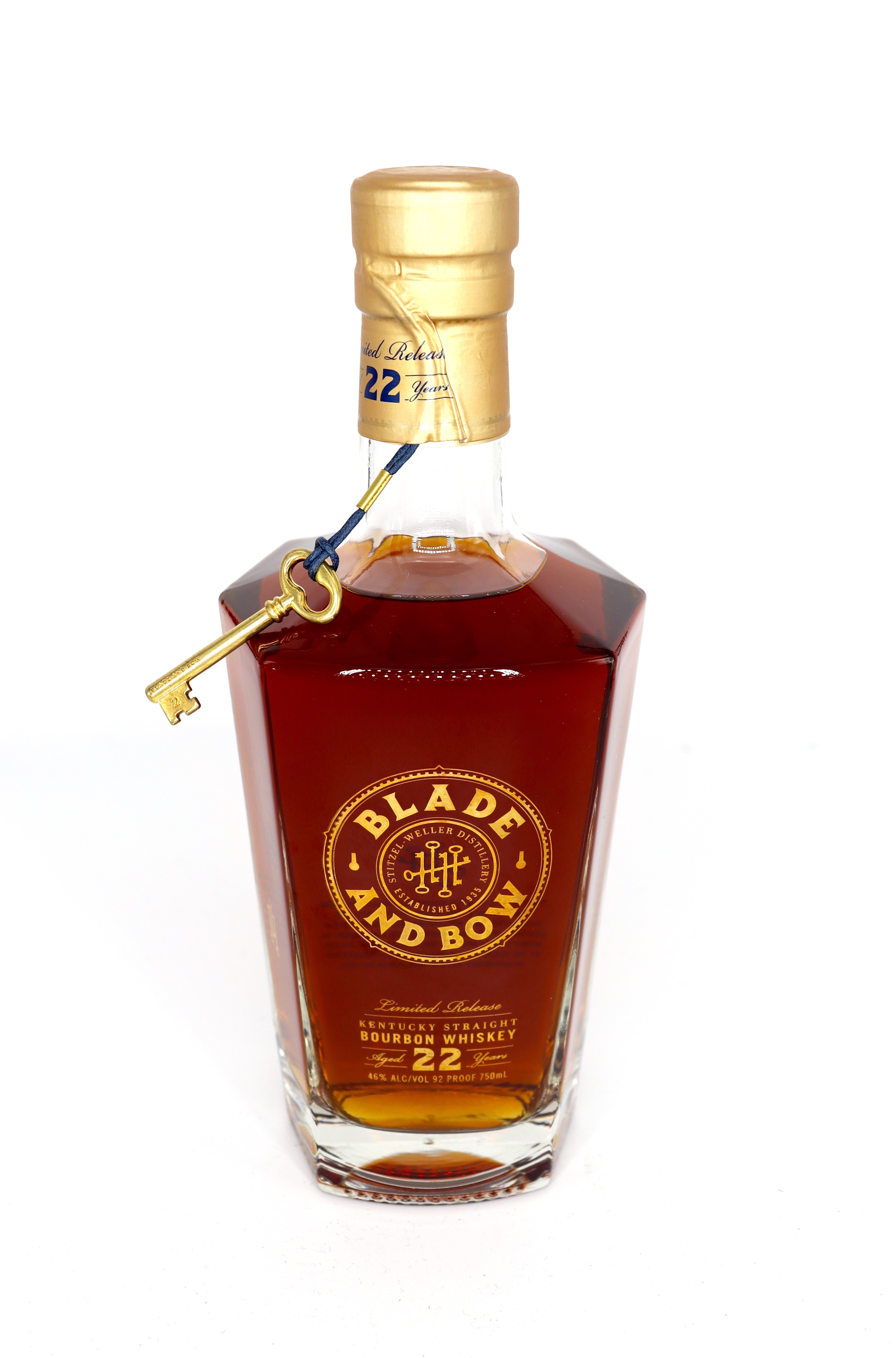 Blade and Bow Limited Release 22 year Old Kentucky Straight bourbon