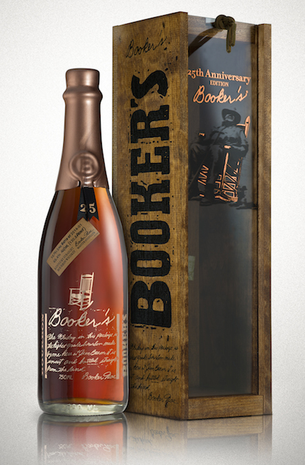 Booker's Batch 2014-01 25th Anniversary True Barrel Small Batch Straight Bourbon Whiskey [Scuff in label ]