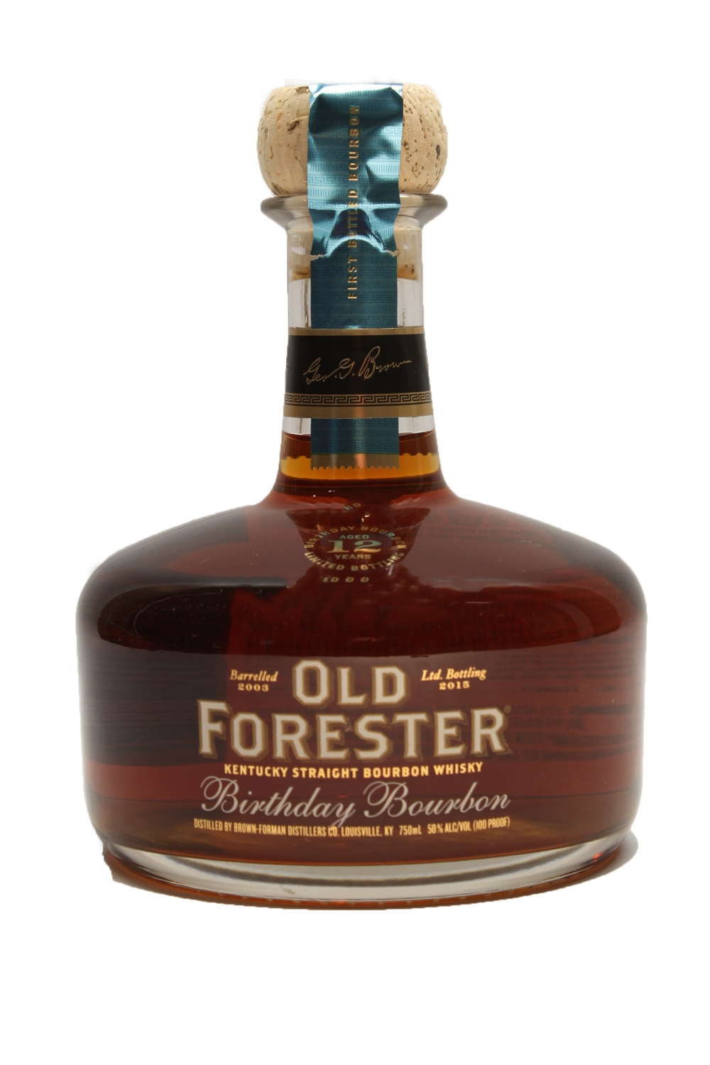 Old Forester Birthday 12 years aged 2015 bottling