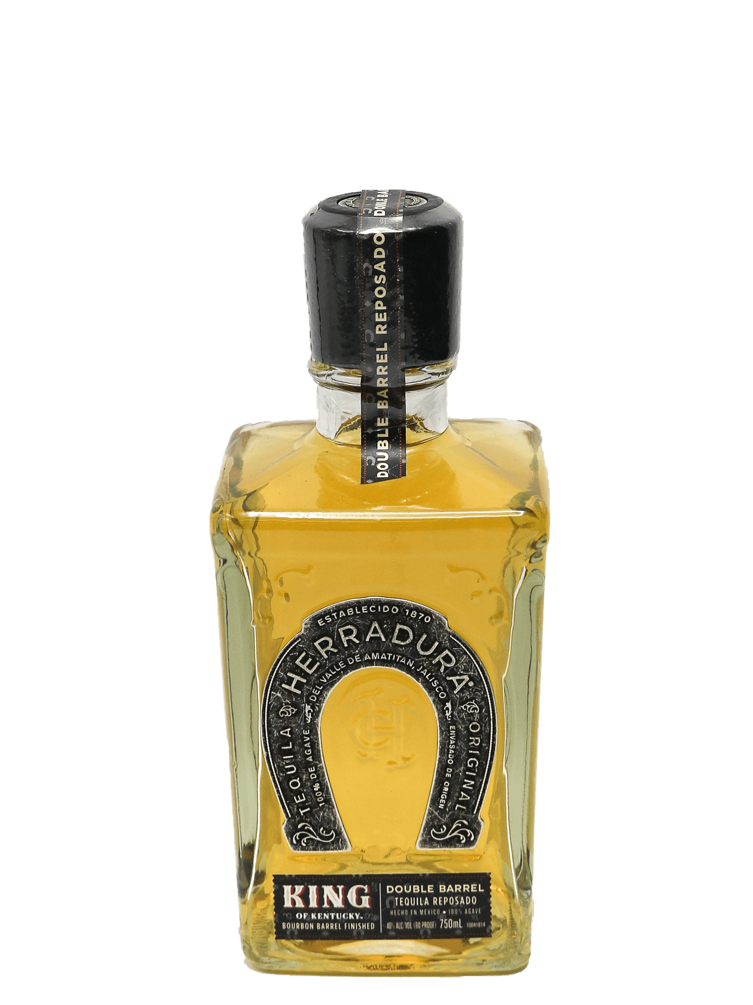 Herradura Double Barrel Reposado Tequila KING of KENTUCKY Bourbon Barrel Finished Barrel # 2345