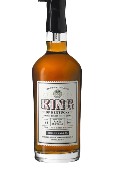Brown Formans King of Kentucky 14 yr Single Barrel 130.5 proof Inaugural release