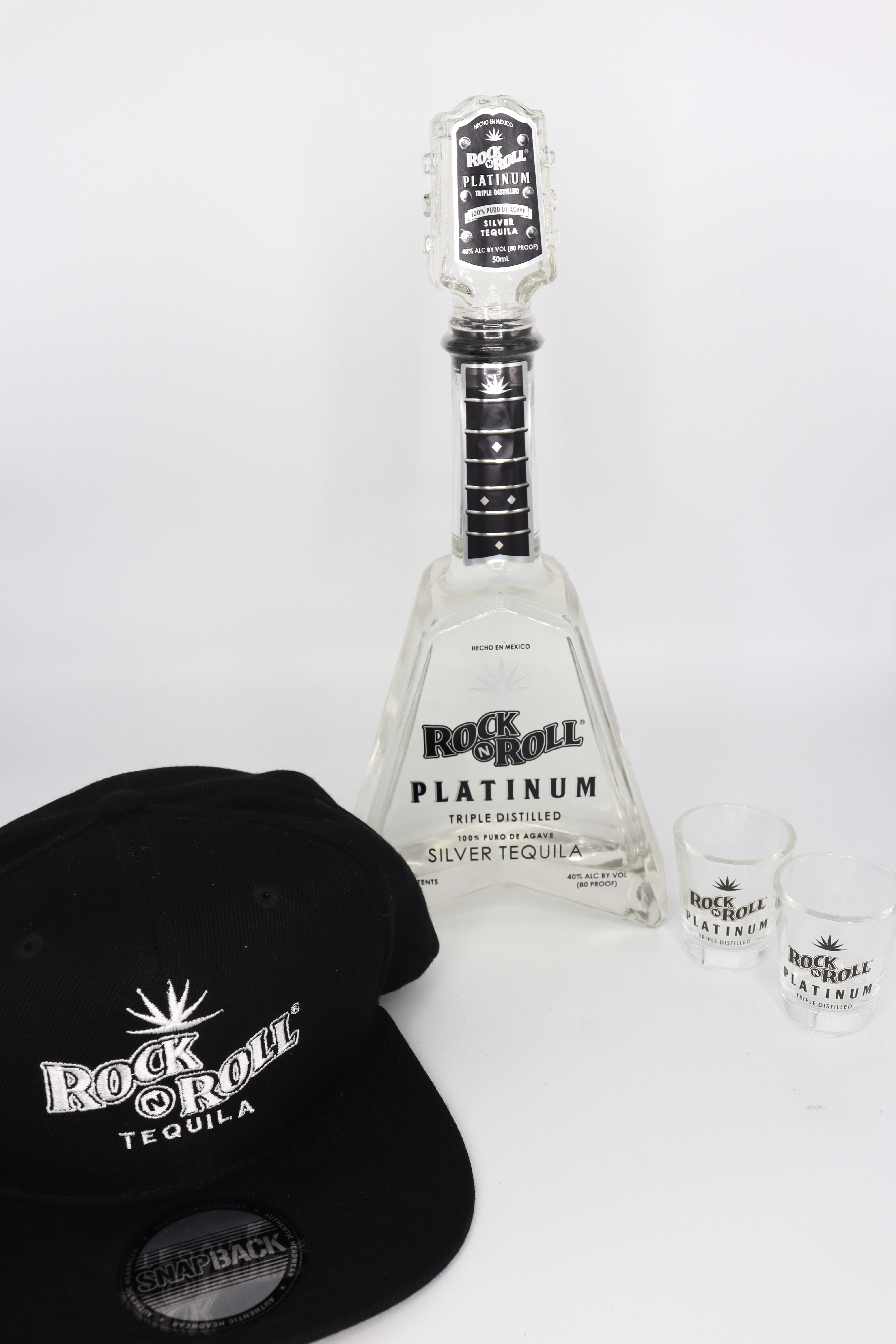 Rock N Roll Tequila Platinum With Surprise Swag