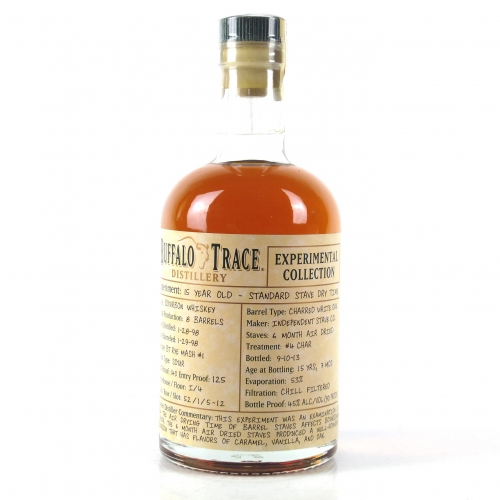 Buffalo Trace Experimental Collection 15 year-Standard Stave Dry Time