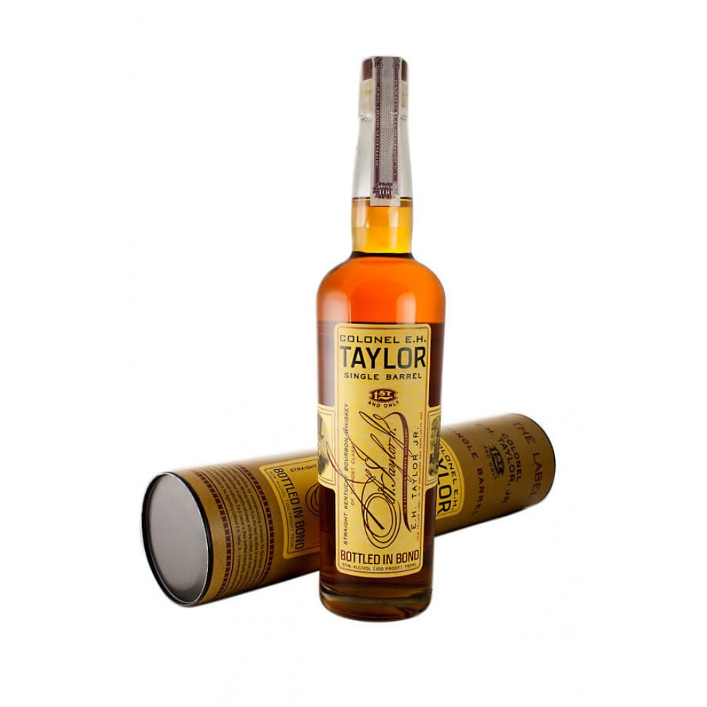 Colonel E. H Taylor Small Batch Bottled in Bond Straight Kentucky Bourbon Whiskey