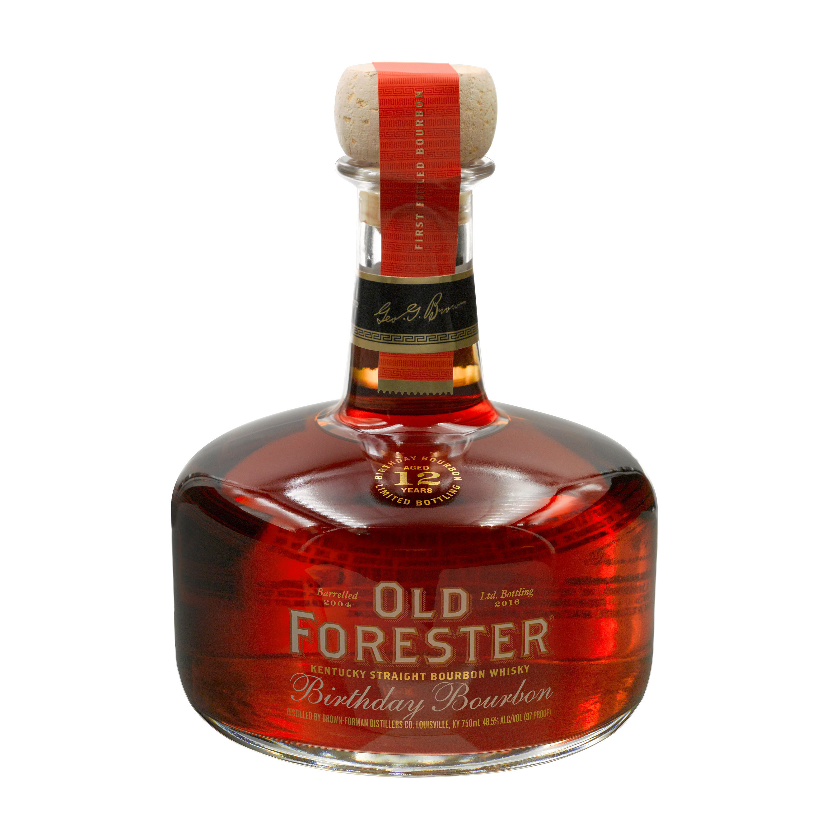 Old Forester Birthday 12 years aged 2016 bottling