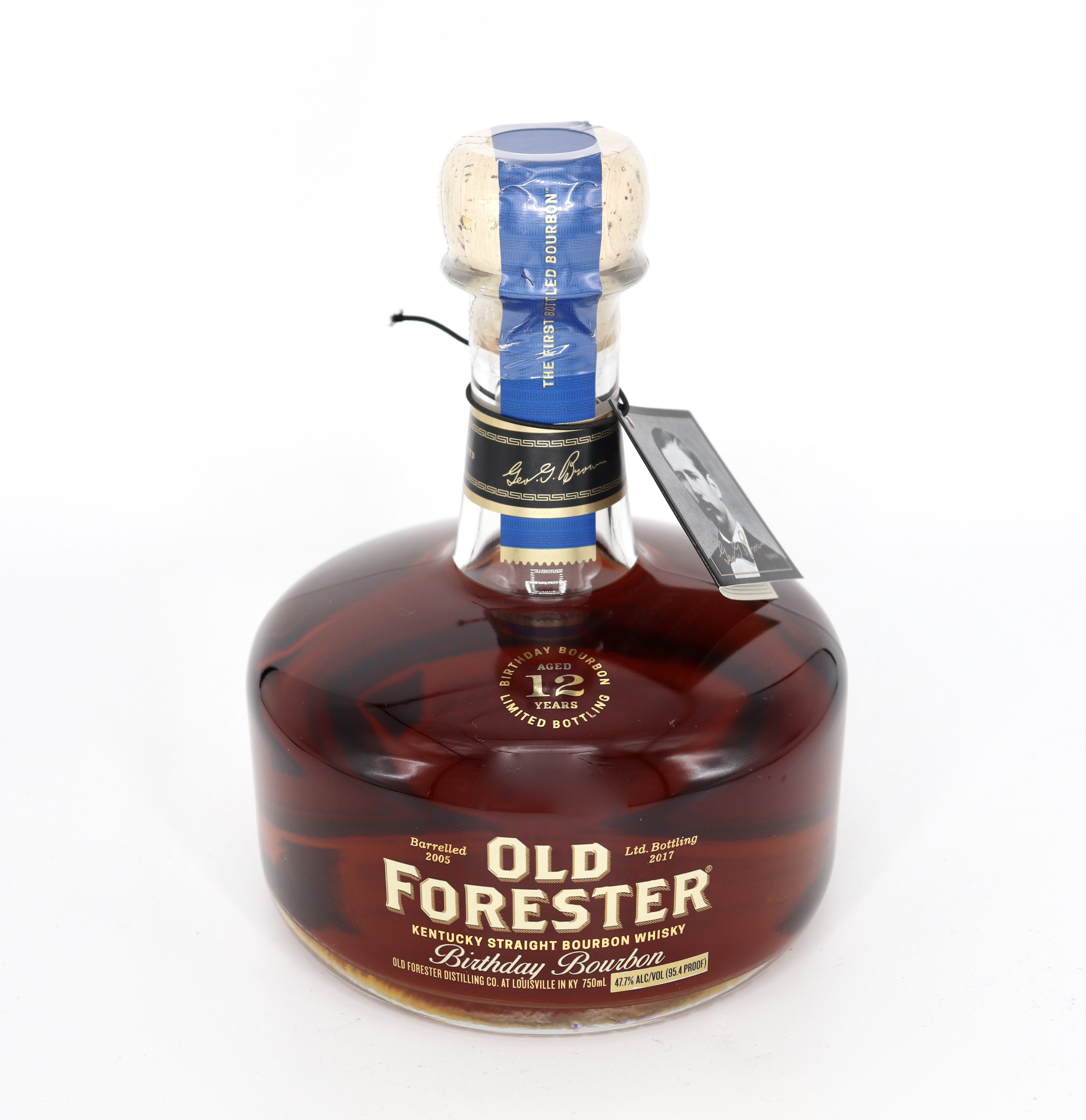 Old Forester Birthday 12 years aged 2017 bottling 95.4 proof