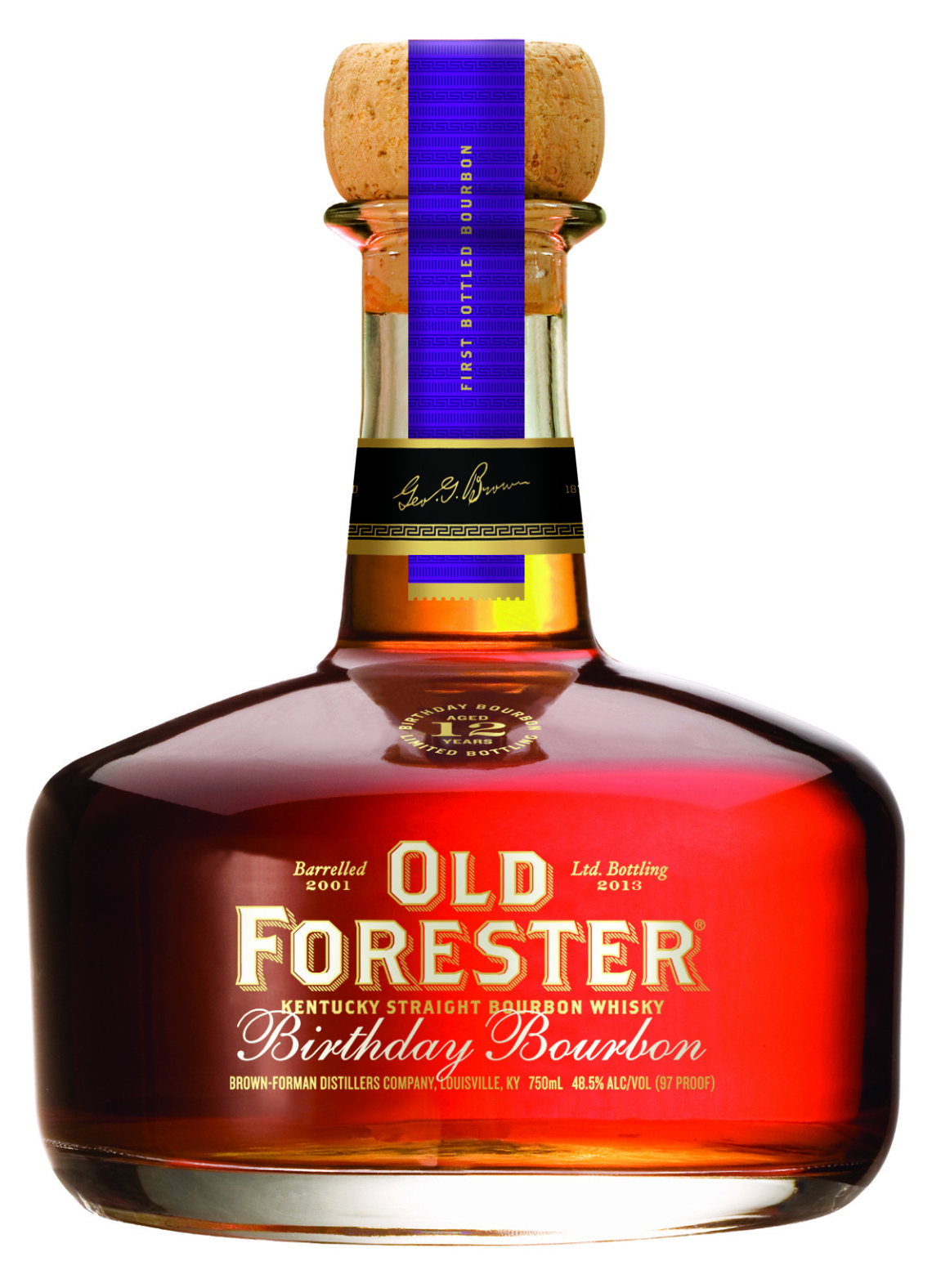 Old Forester Birthday 12 years aged 2013 bottling