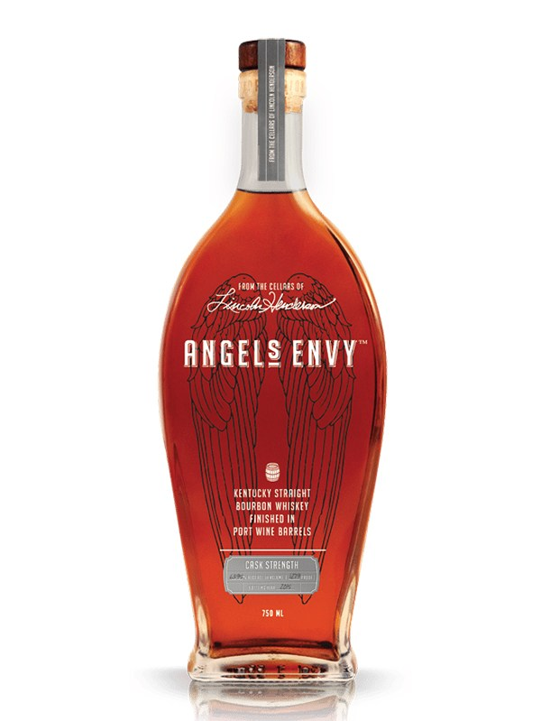 Angels Envy Straight Bourbon Whiskey Finished in Port Wine Barrels Cask Strength 2015 OWC