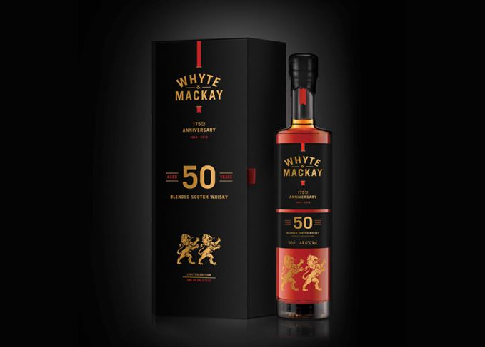 Whyte Mackay 175th Anniversary 50 year old Scotch