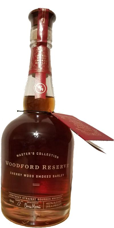 Woodford Reserve Master's Collection Cherry Wood Smoked Barley Kentucky Straight Bourbon