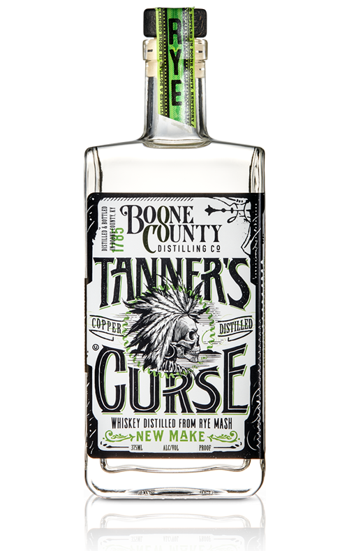 Boone County Tanner's Curse White RYE  375ml