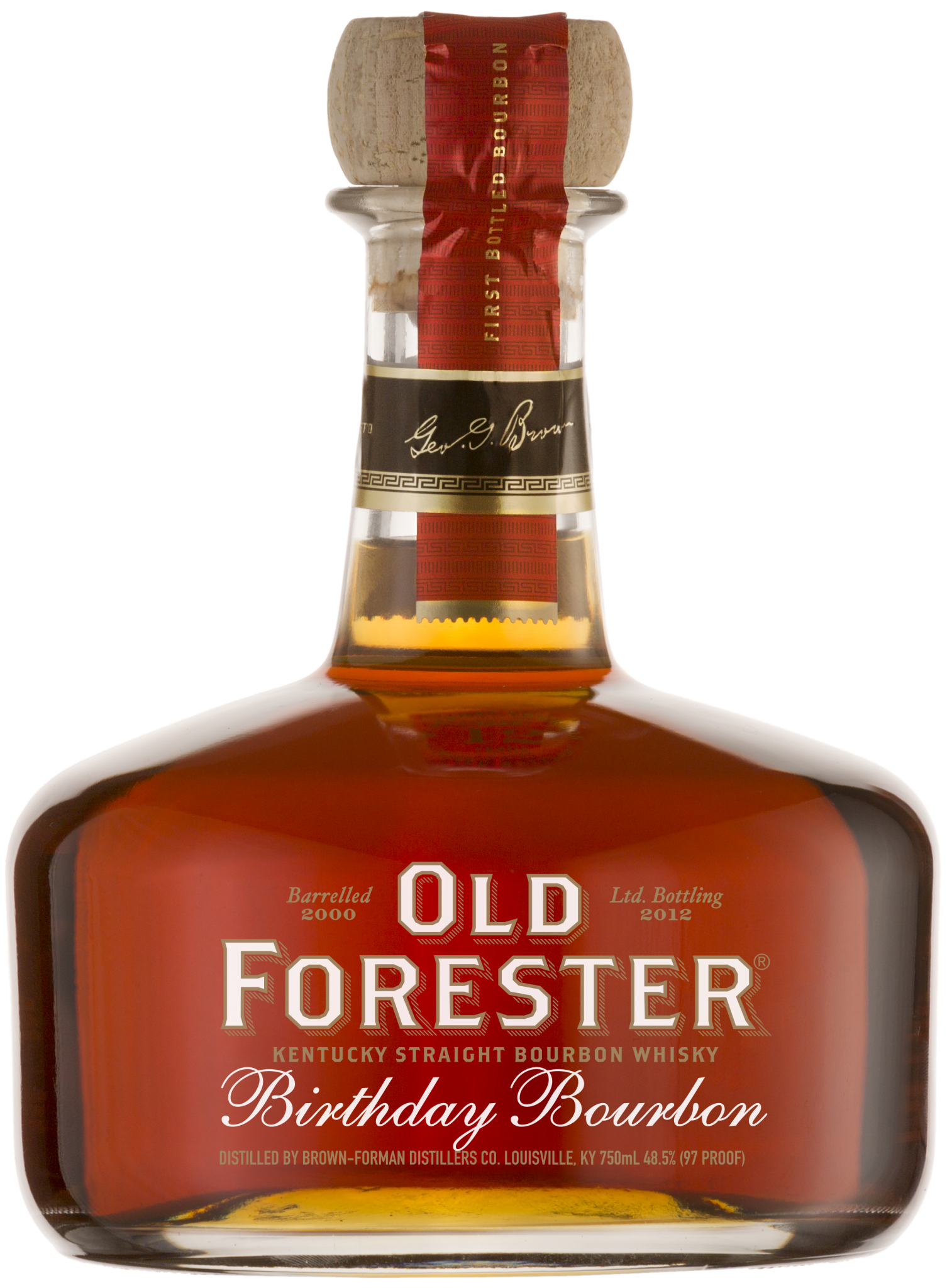 Old Forester Birthday 12 years aged 2012 bottling