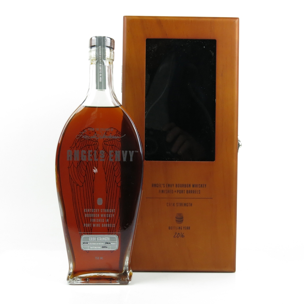 Angels Envy Kentucky Straight Bourbon Whiskey Cask Strenght in port wine 2016