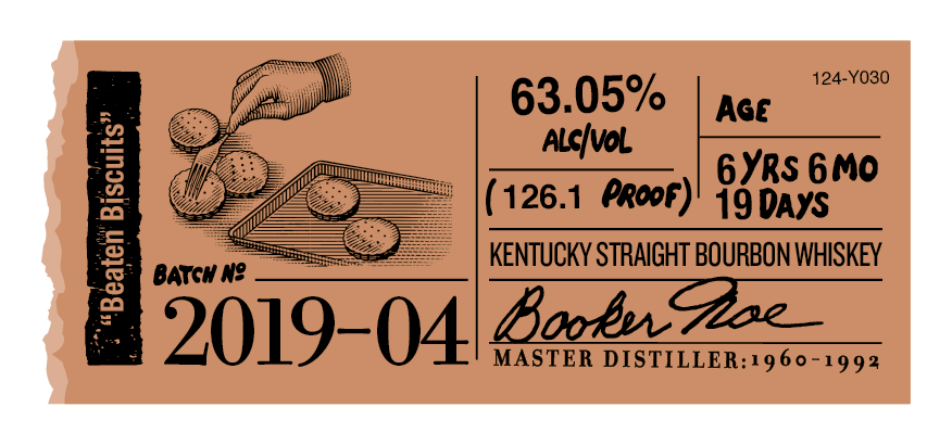Booker's Beaten Biscuits Small Batch 2019-04