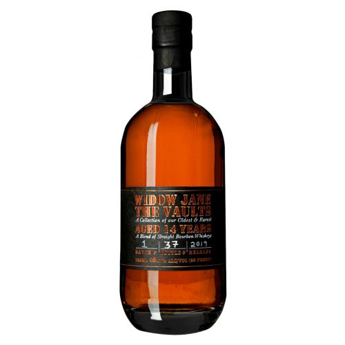 Widow Jane The Vaults 14 Year Old Straight Bourbon batch 1 2019 release