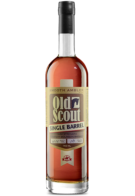 Smooth Ambler Old Scout 13 year old Single Barrel Cask Strength Straight Bourbon