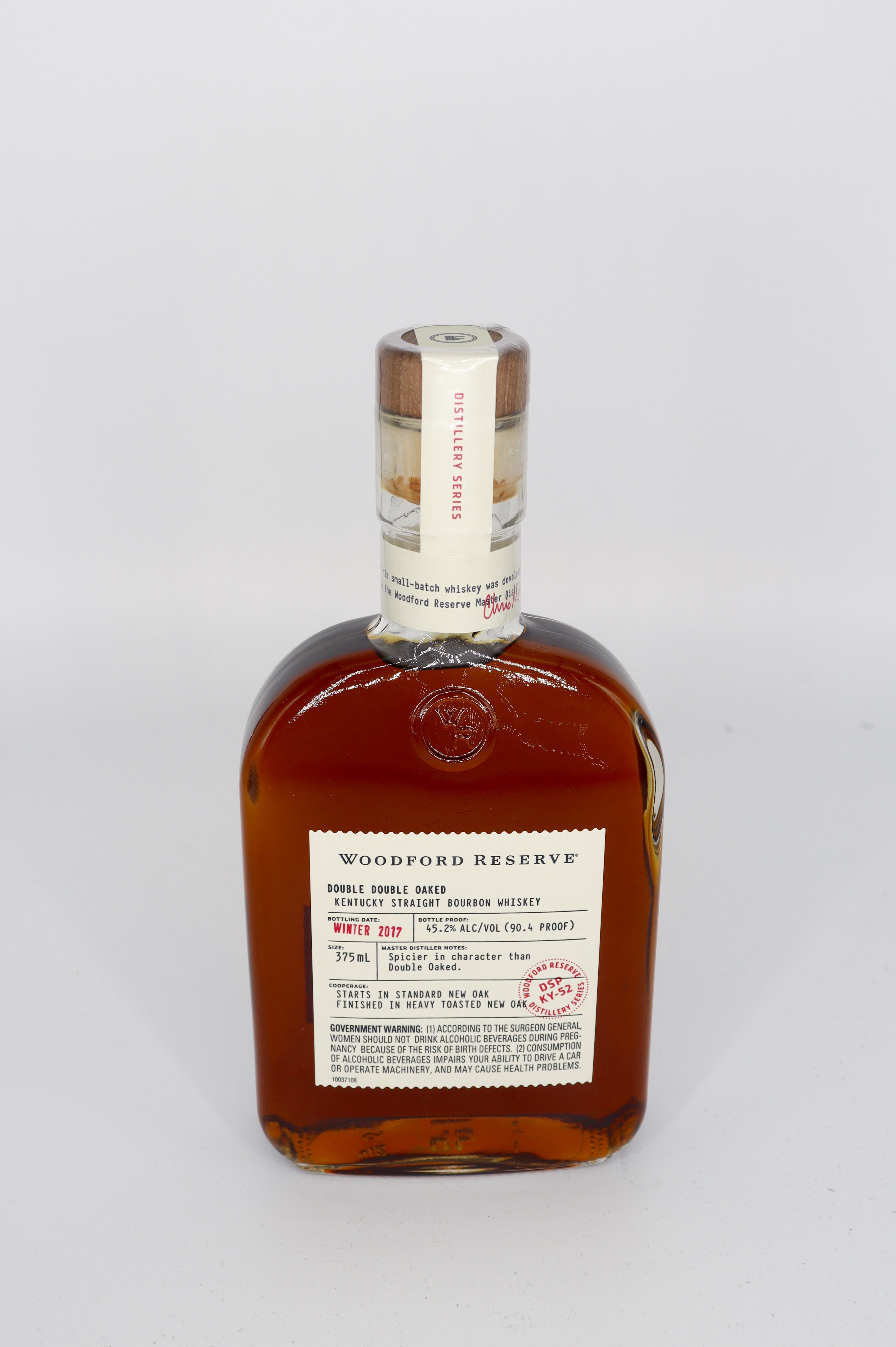 Woodford Reserve Distillery Series Double Double Oaked Bourbon Winter 2011