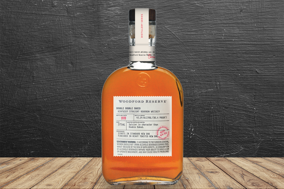 Woodford Reserve Distillery Series Double Double Oaked Bourbon 2018