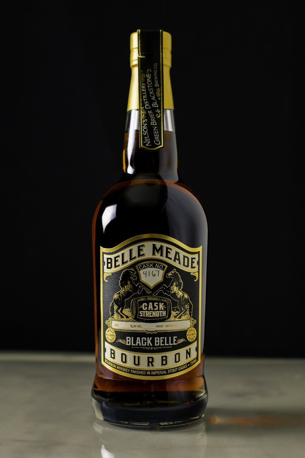 Belle Meade Black Belle Bourbon Cask Stregnth Barrel 45 95 proof