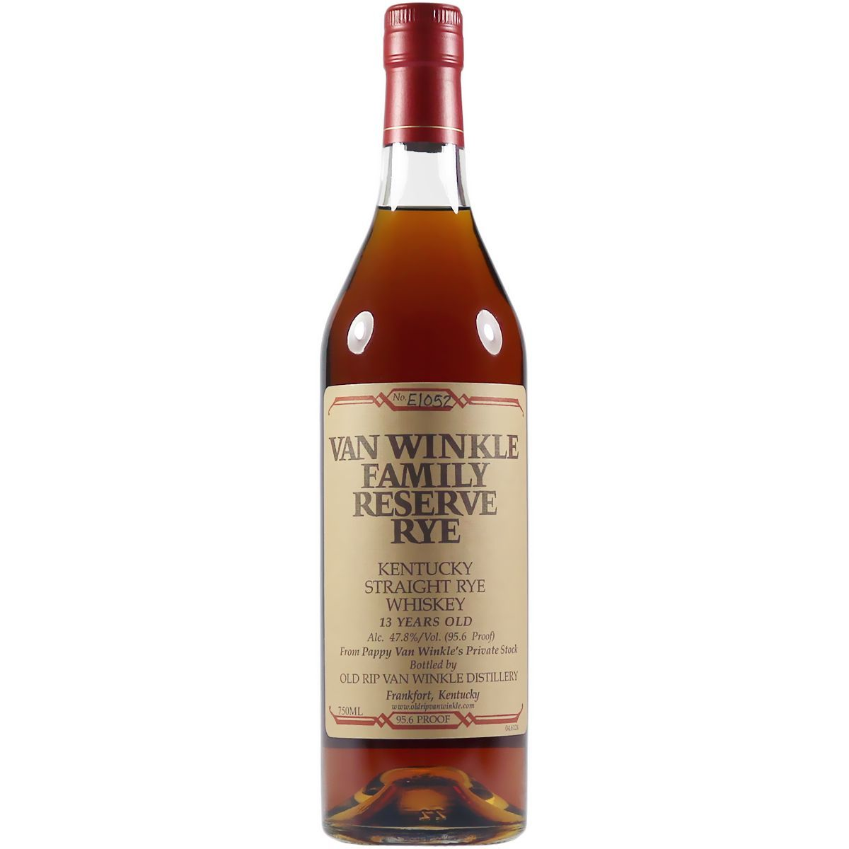 Pappy Van Winkle's Family Reserve 13 Year Old Kentucky Straight Rye Whiskey