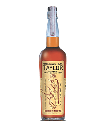 Colonel E. H Taylor Amaranth The Grain of the Gods Straight Kentucky Bourbon Whiskey