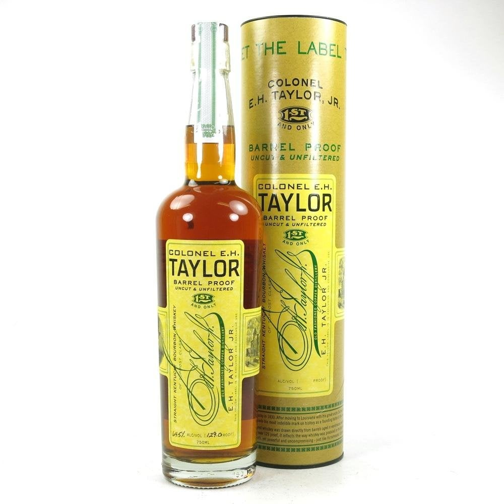 Colonel E. H Taylor Barrel Proof Kentucky Straight Bourbon Whiskey